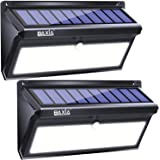 BAXIA TECHNOLOGY Solar Lights Outdoor, 100 LED Solar Motion Sensor Lights with Wide Angle, Upgraded Waterproof Super…