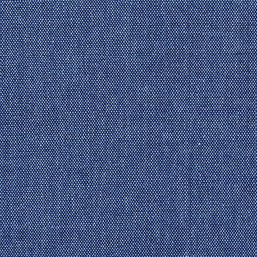 Tab Top Curtain Panels Pair Bennett Cobalt Blue Cotton by Close to Custom Linens