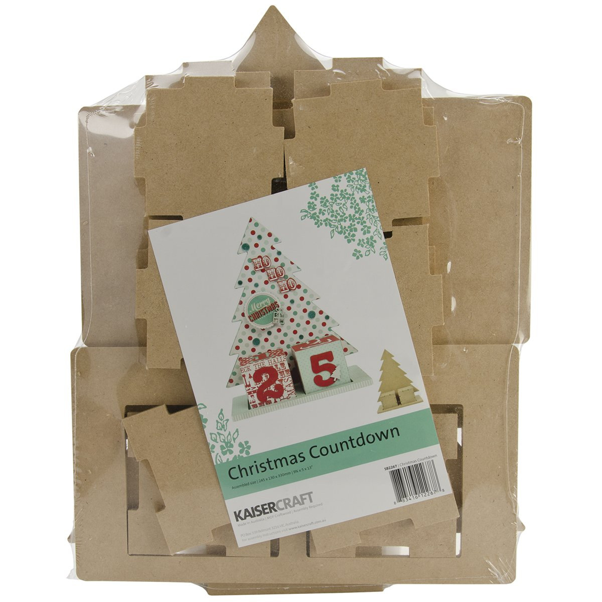 Beyond The Page MDF Christmas Countdown-9.75