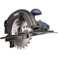Ferm CSM1039 Cirkelzaag 1200W -185mm - Spindelblokkering - Verstelbare voetplaat (45 en 90 graden) - inclusief TCT…