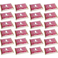 HomeStrap 24 Piece Fabric Saree Cover, Large