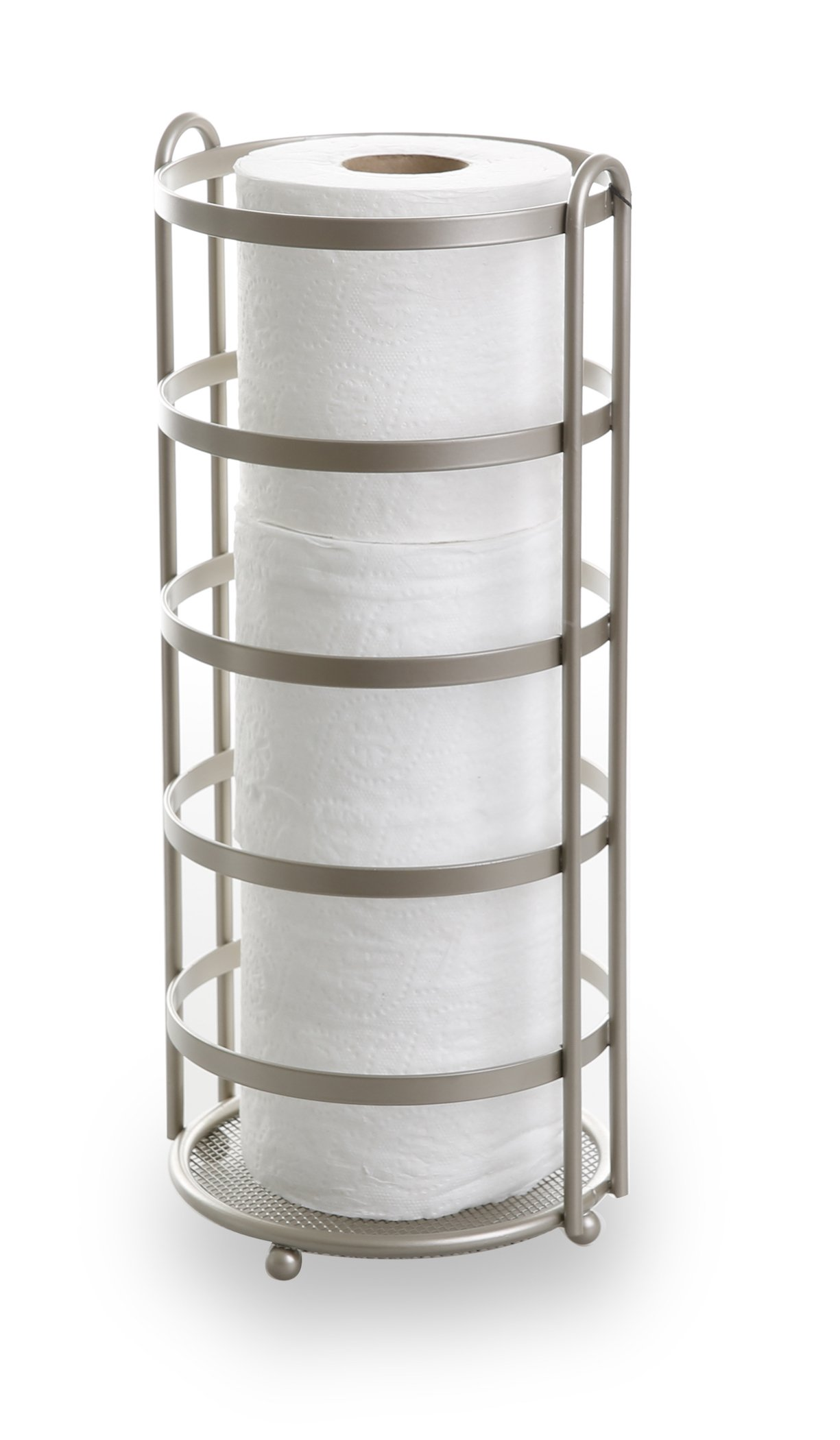 BINO 'Lafayette' Toilet Paper Reserve, Nickel by BINO
