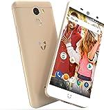 "Wileyfox Swift 2 16GB with 2GB RAM 5.0"" HD (Dual SIM 4G) SIM-Free Smartphone Android Oreo 8.1 - Gold"