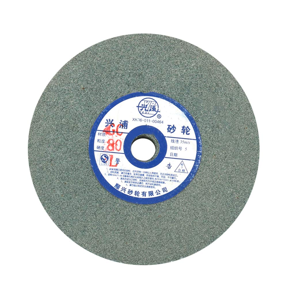 5''125mm 80# Disc Grinding Wheel Abrasive Polishing Stone Wheel Disc for Polishing Metal, Stainless Steel, Aluminum,Glass and Furniture