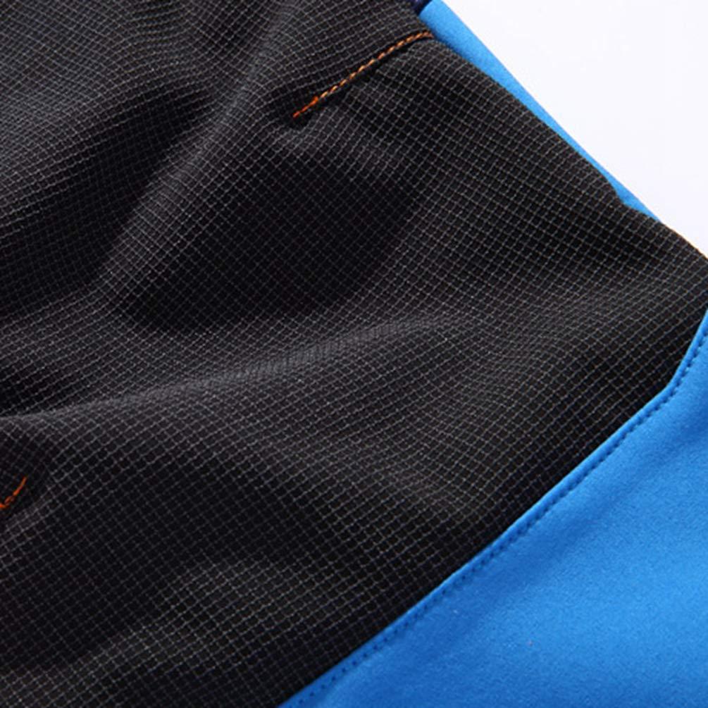 Yuanu Pantaloni da Arrampicata Ragazzo Ragazze Impermeabile Pile Polare Foderato I Pantaloni AllAperto Sciare Tenere Caldo Tasca con Zip Pantalone Cintura Elastica Regolabile con Cintura