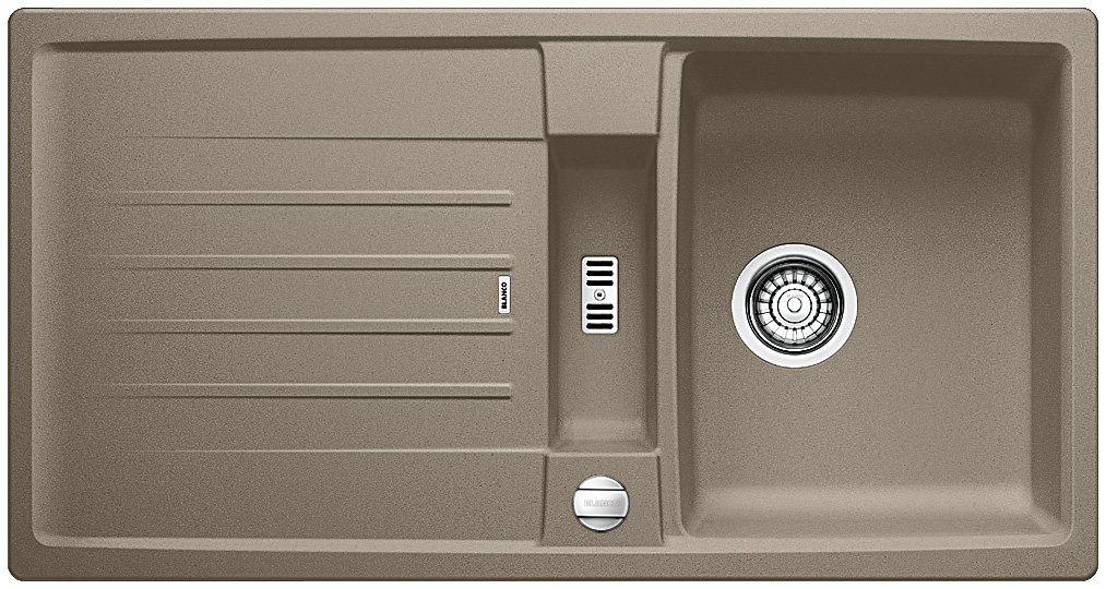 Blanco Lexa 5 S, Küchenspüle aus Silgranit PuraDur, tartufo ...