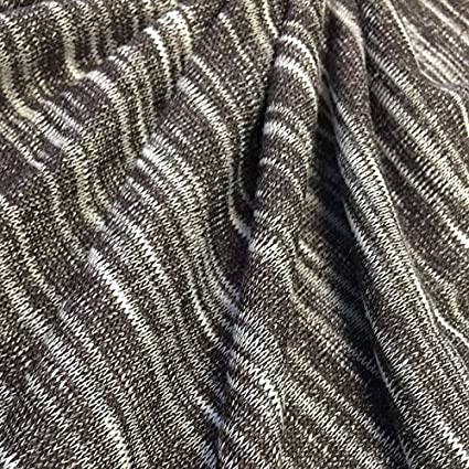 Amazon Com Premium Quality Poly Cotton Slub Jersey Knit