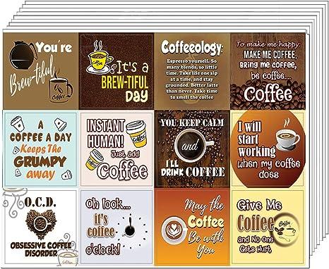 Coffee Cup Break Latte Stickers Scrapbook Planners Diary Crafts Models Precut