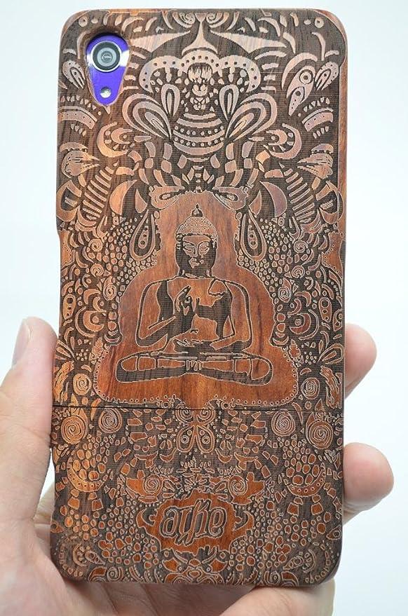 1 opinioni per Holzsammlung® Sony Xperia Z5 Premium Legno Custodia- In noce indiano Buddha-