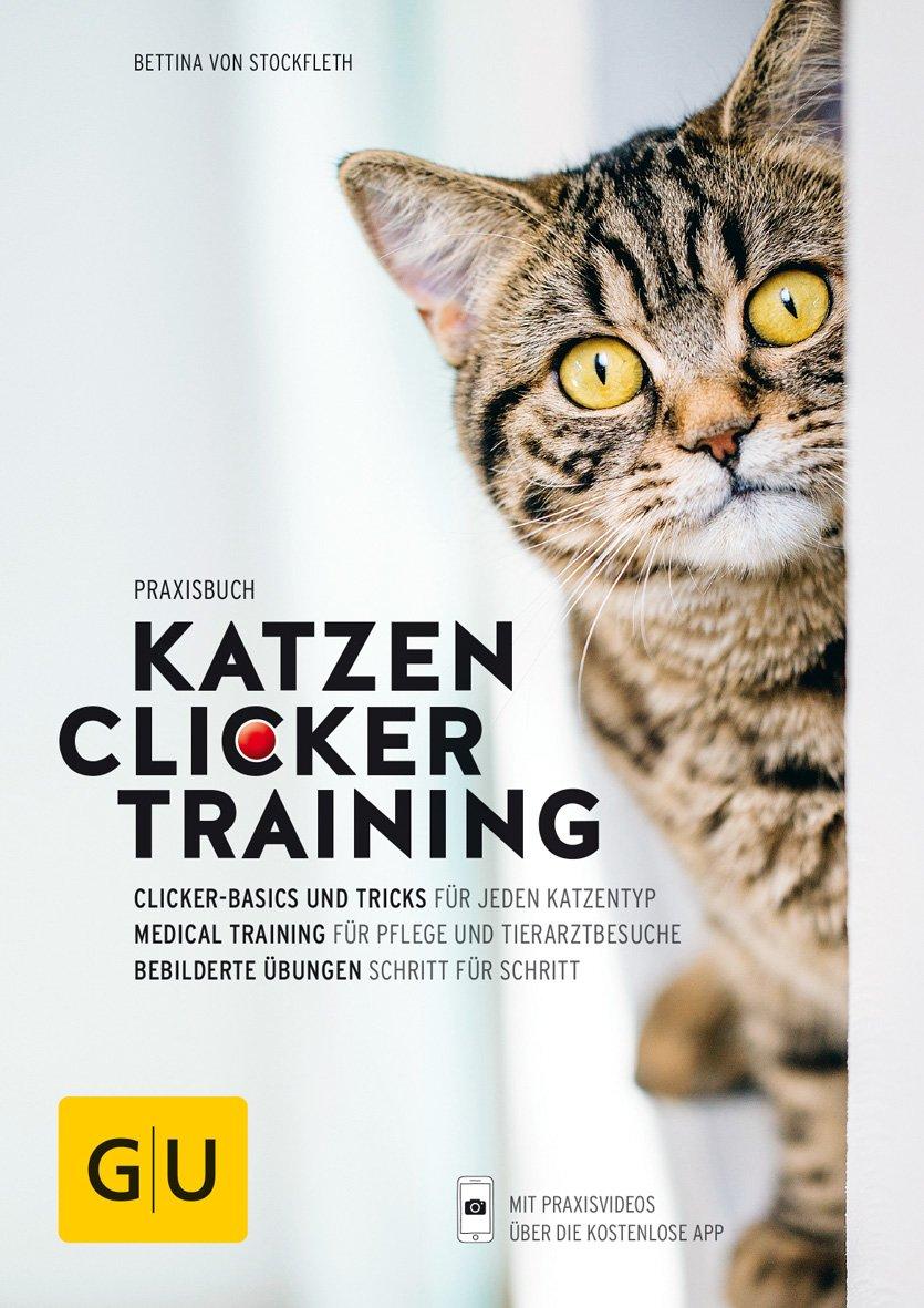 praxisbuch-katzen-clickertraining-clicker-basics-und-tricks-fr-jeden-katzentyp-medical-training-fr-pflege-und-tierarztbesuche-bebilderte-bungen-schritt-fr-schritt-gu-tier-spezial
