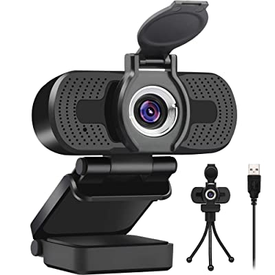 Plug and Play USB Web Camera,Streaming Webcam for YouTube,Skype,Zoom,Xbox One Video Calling,Studying and Conference Full HD Web Cam for PC//MAC//Laptop//Desktop OVIFM 1080P Webcam with Microphone