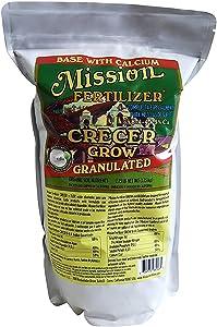 Mission Fertilizer Grow granular with Calcium (Organic Soil nutrients 2.75lb)