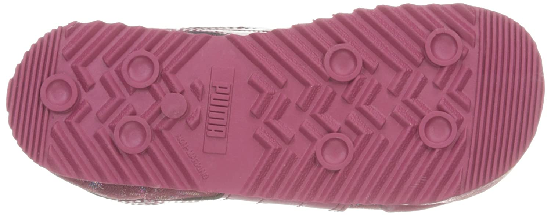 Toddler PUMA Roma Basic Gleam Kids Sneaker Red Plum//Red Plum 4 M US Toddler ROMA BASIC GLEAM INF K