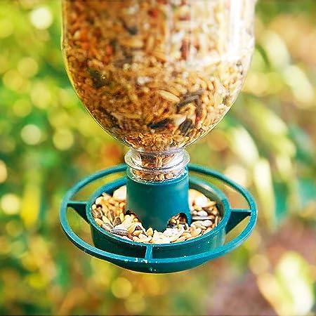 Parkland - Juego de 4 Botellas de Comida para pájaros con ...