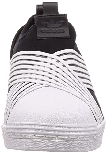 Amazon.com | adidas Womens Superstar Slip On W, CORE Black/Footwear White/Footwear White | Fashion Sneakers