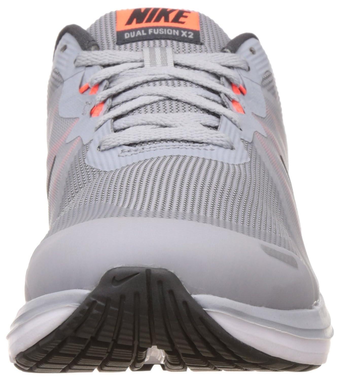 half off 5d430 3788a Nike Dual Fusion X, Trail Homme, Blanc (WLF Grey Blk Anthrct TTL Crmsn), 40  EU  Amazon.fr  Chaussures et Sacs