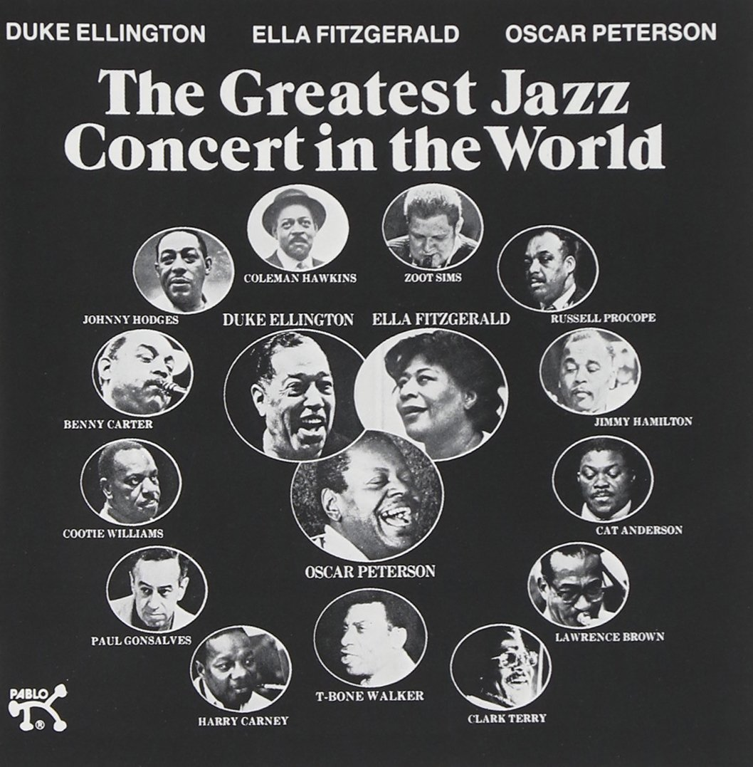 The Greatest Jazz Concert in the World by Pablo