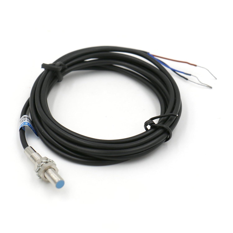 Interruttore del sensore di prossimità induttivo Heschen LJ5A3–1-z/AX rilevatore di 1mm 6–36VDC 200mA NPN normalmente chiusa (NC) 3fili Heschen Electric Co.Ltd HS-LJ5A3-1-Z/AX