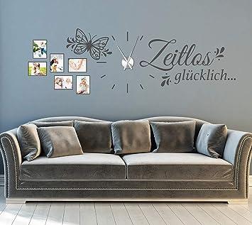 tjapalo® gr-pkm279 143x55cm XL Wandtattoo Wohnzimmer Familie ...