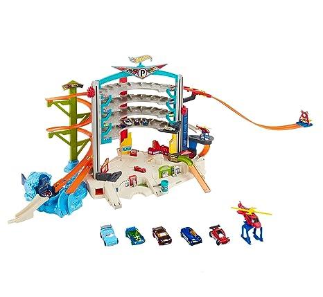 Hot Wheels Mega Auto Garage Playset Amazoncomau Toys Games