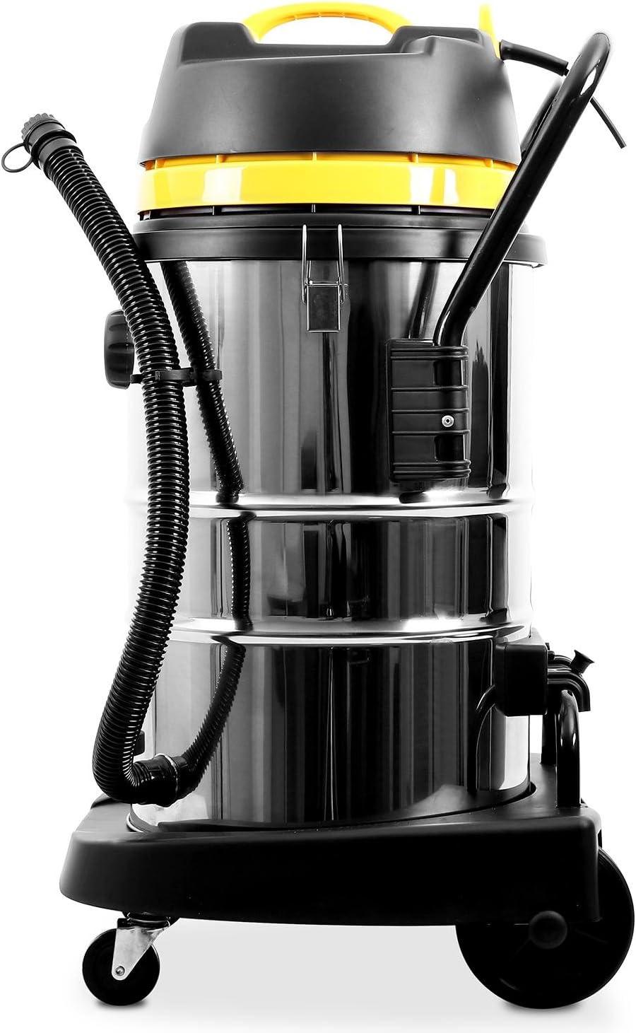 Klarstein IVC-50 • Aspirador industrial • Sin bolsa • En seco y ...