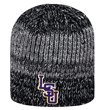 best authentic e5968 fde7d Amazon.com   NCAA LSU Tigers TOW Knit Glove Leeward Beanie Hat And Hail Scarf  3 Pack Bundle   Sports   Outdoors