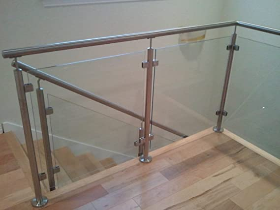 Amazon.com: Sistema de escalera newel Post e0042. Baranda de ...