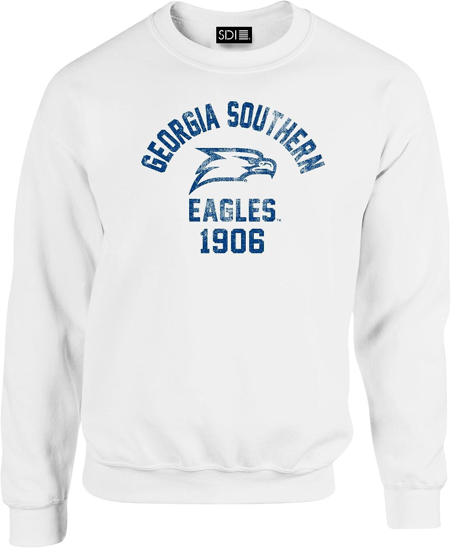 SDI NCAA Mascot Block Arch Crew Neck Sweatshirt