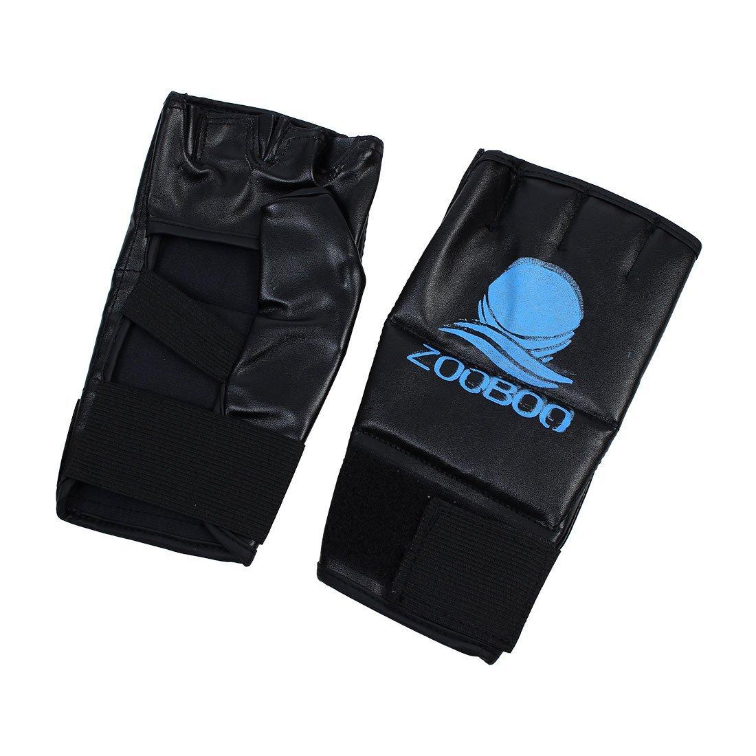 Amazon.com : eDealMax ZOOBOO autorizado de entrenamiento de boxeo Kickboxing ejercicio pesado del bolso de Formación de perforación vacío 80cm Altura Red w ...