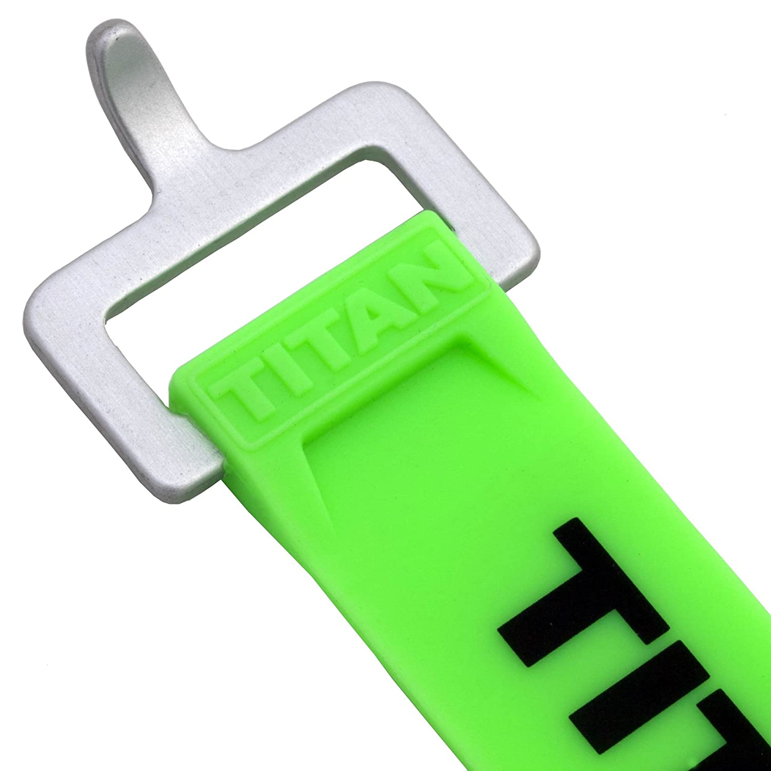 Working Load Pack of 2 Titan Straps 60-lb 9, Fluorescent Green