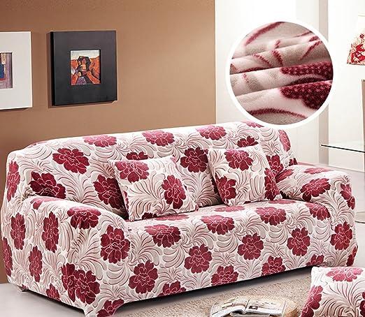 Z&HX-Funda de sofá 1 2 3 4 Seater Slipcover Easy Stretch ...