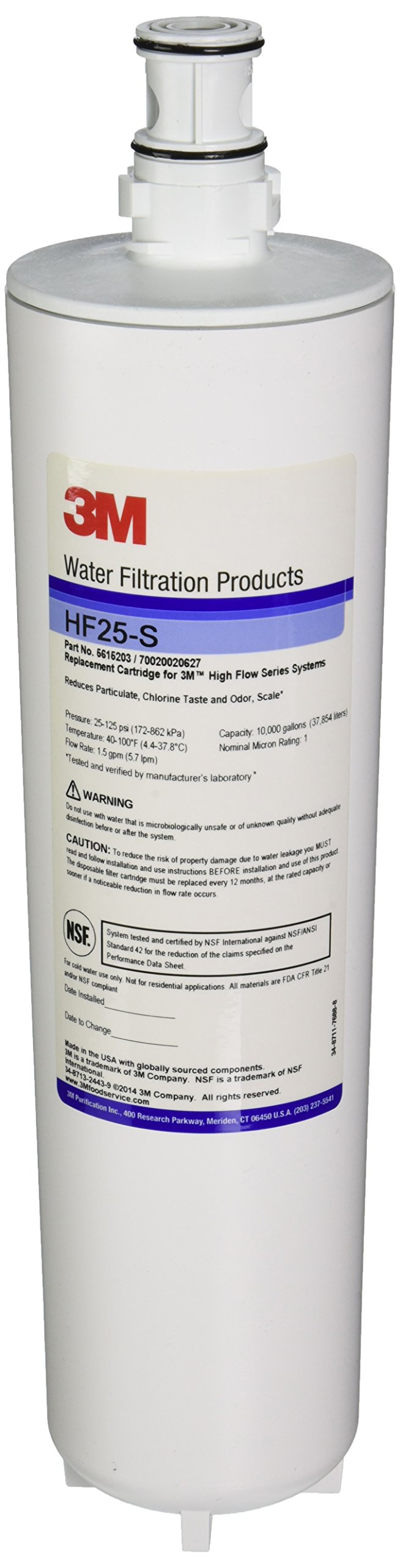 3M - HF25-S - Ice Machine Replacement Filter Cartridge Part # 5615203 by 3M