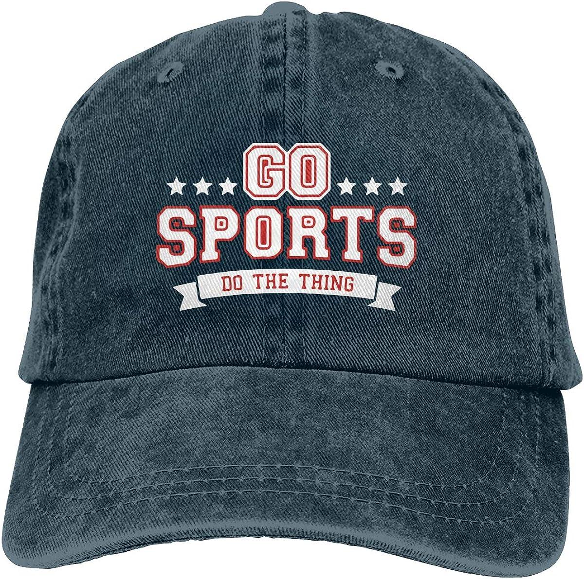 Unisex Adult Go Sports Custom Cowboy Hat Adjustable Trucker Hats