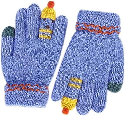 snowboard guantes de dibujos animados para jugar a esqu/í guantes gruesos Guantes de invierno para ni/ños para ni/ños de 2 a 6 a/ños de edad