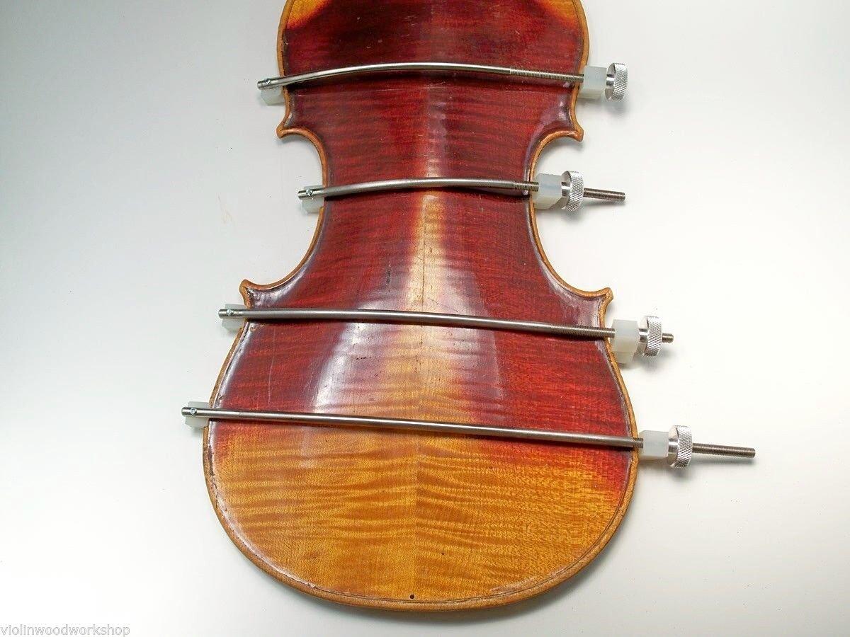 Violin/Viola: Set of 4 Seam Repair Joining Clamp Stainless Steel VWWS USA