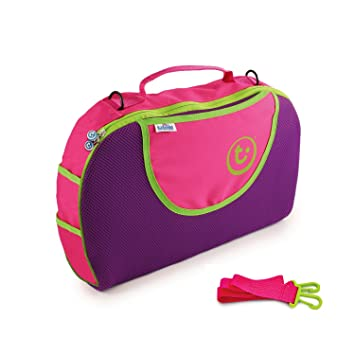 Trunki Tote Bag Maleta Tela, De plástico Rosa - Bolsa de viaje (42 cm, 28 cm, 8 cm, 200 g, Rosa): Amazon.es: Equipaje