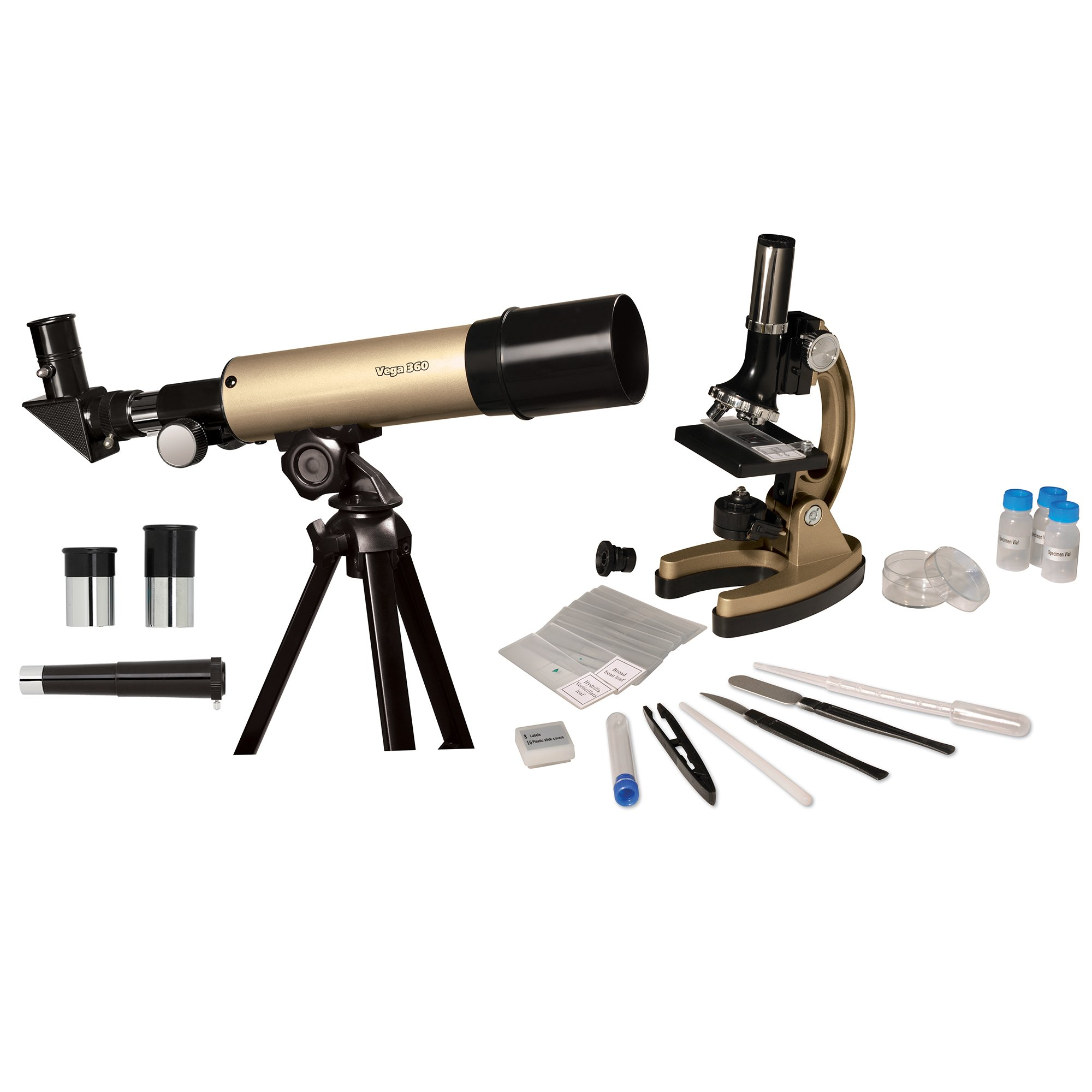 Educational Insights GeoSafari Telescope & Microscope Set by Educational Insights