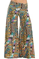 Flowy and Comfy Elegant Palazzo Lounge Pants - Designed and Made in USA by Glam Attack