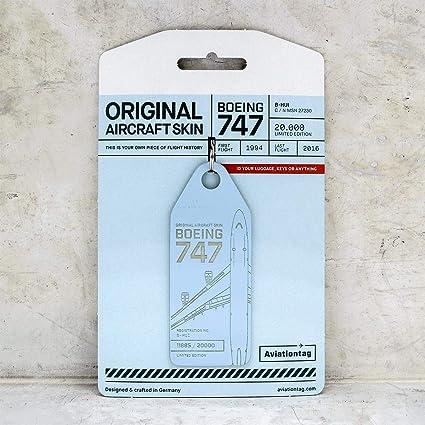 Amazon.com: AVT016 AviationTag Boeing 747 (Cathay Pacific ...
