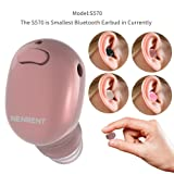 Amazon Price History for:NENRENT S570 Bluetooth Earbud, Smallest Mini V4.1 Wireless Bluetooth Headset Headphone Earphone with Mic Hands-Free Calls for iPhone iPad Samsung Galaxy LG and Other Smartphones-1 Piece (Rose Gold)