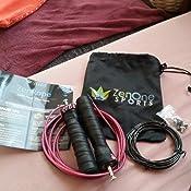 zenrope speed rope springseil sport mit gratis e book i extra stahlseil tasche. Black Bedroom Furniture Sets. Home Design Ideas