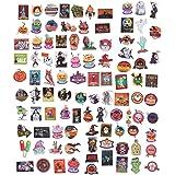 Supvox 100 peças sortidas de adesivos de Halloween e decalques de terror para personalizar laptop, skate, bagagem, adesivos d