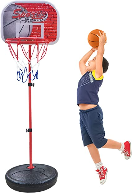 Toddlers Gifts Toys for 1-5 Year Old Boys Girls,Toy Basketball Set for Kids,Toy