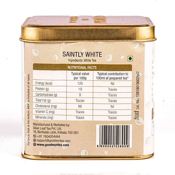 Goodwyn White Tea Delight, 50g