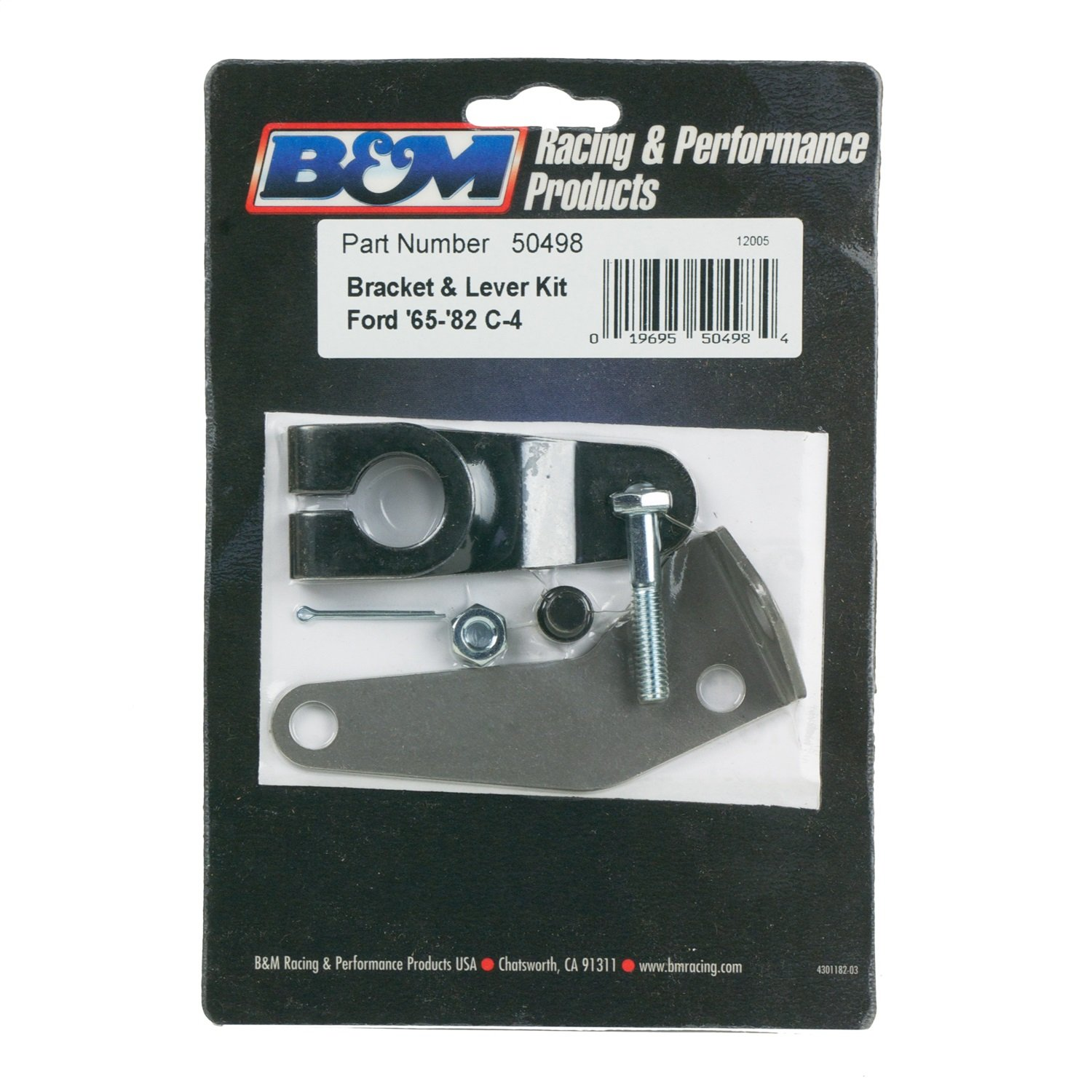 B&M 50498 Steel Transmission Bracket Kit by B&M