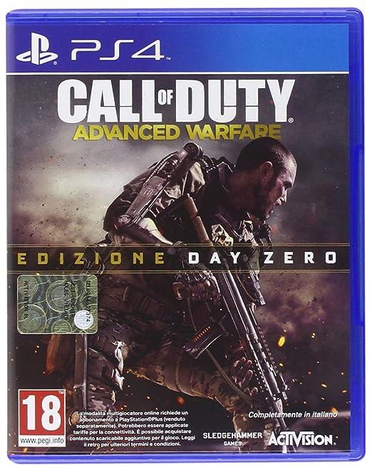 104 opinioni per Call of Duty: Advanced Warfare- Edizione Day Zero- Playstation 4