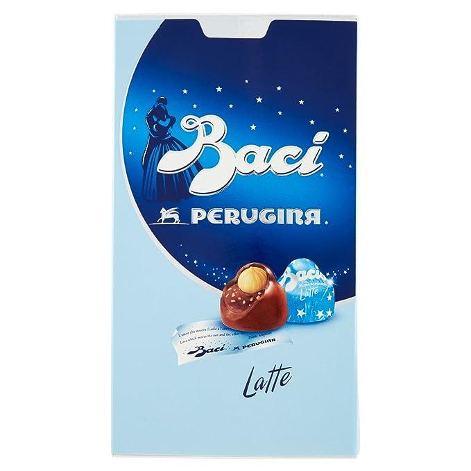 6 opinioni per Baci Perugina Pralina di Cioccolato al Latte Ripieni, al Gianduia e Nocciola