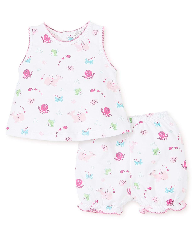 Kissy Kissy Baby-Girls Infant Under The Sea Print Short Playsuit