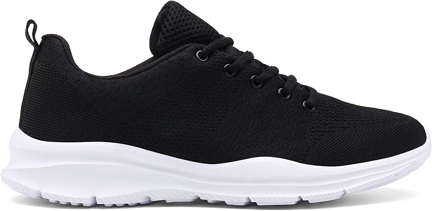 DAFENP Mens Womens Running Shoes Trainers Lightweight Sport Athletic Walking Gym Fitness Sneakers