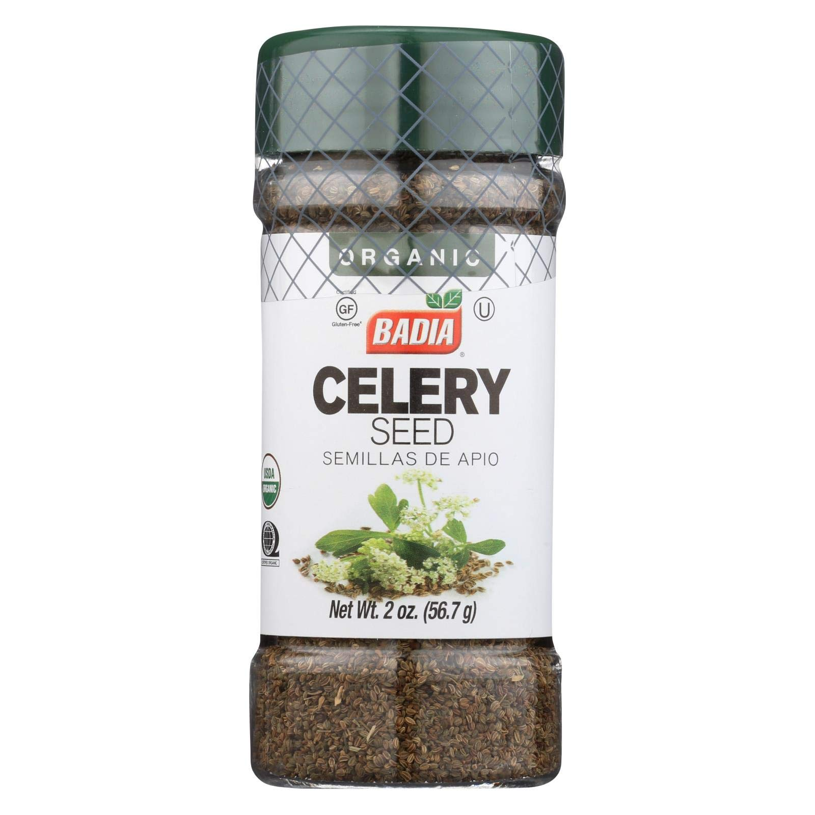 Badia Organic Celery Seed -- 2 oz
